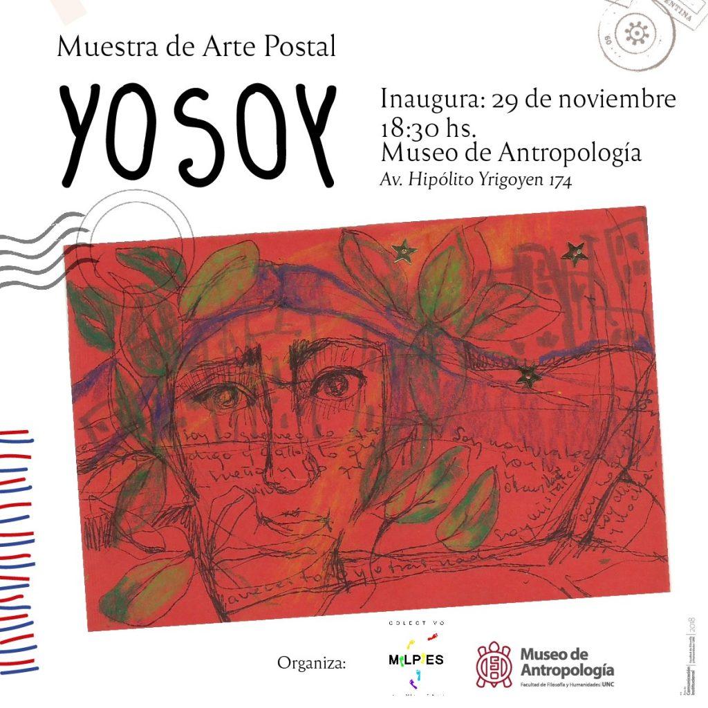 """Muestra de Arte Postal """"YO SOY"""""""