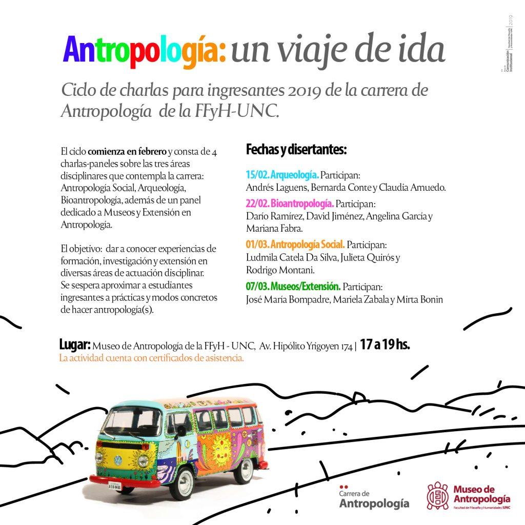 Antropología: un viaje de ida