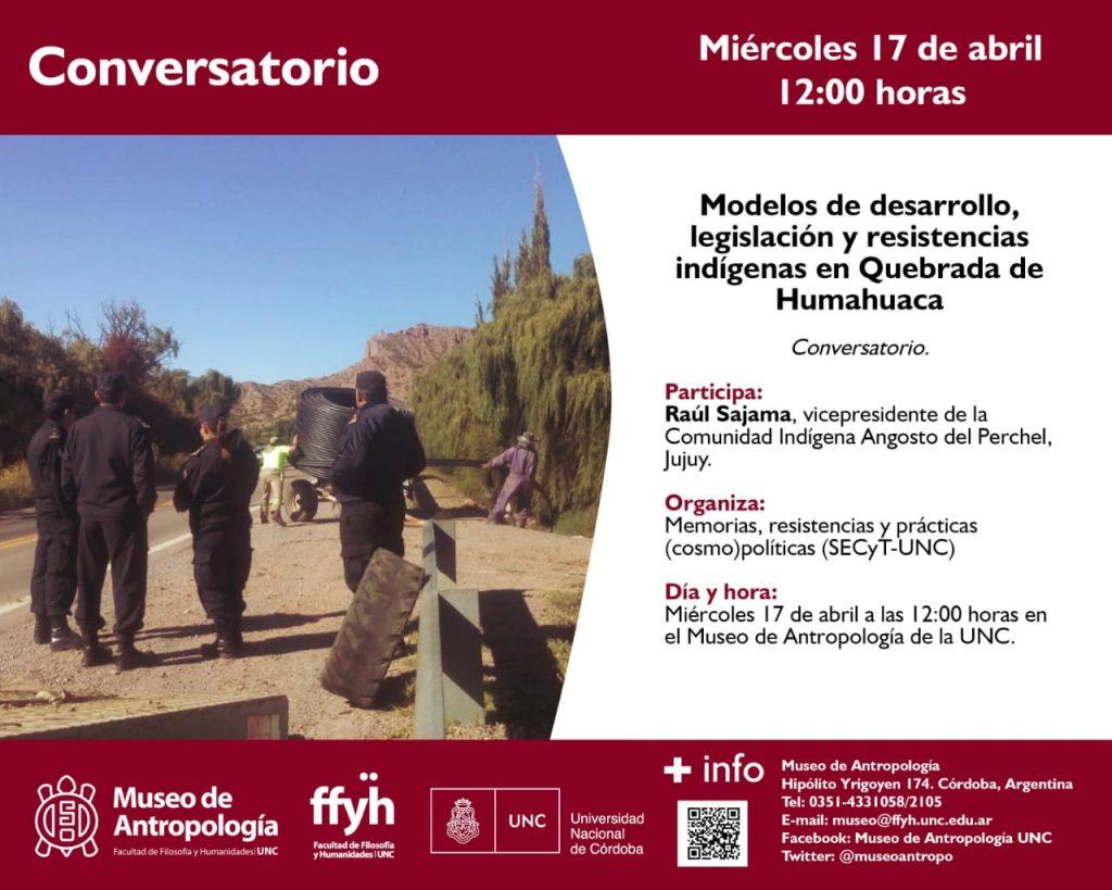 Modelos de desarrollo, legislación y resistencia indígena en Quebrada de Humahuaca.