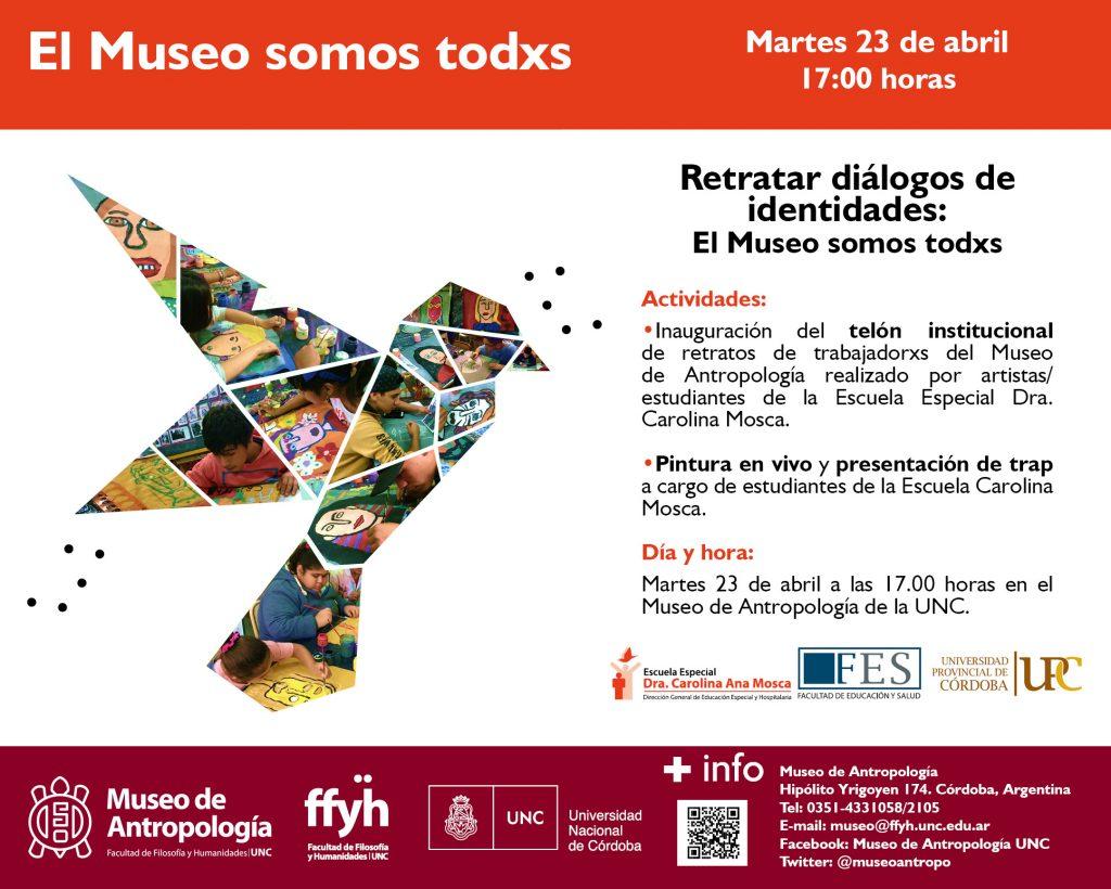 """""""Retratos de identidad. El museo somos todxs"""""""
