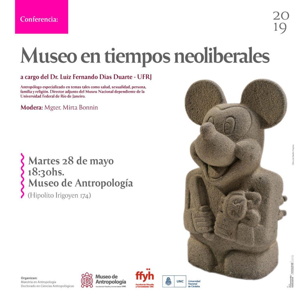 Conferencia: Museo en tiempos neoliberales