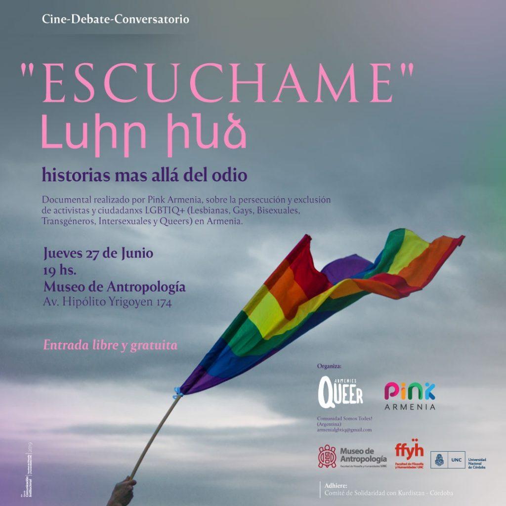 """""""ESCUCHAME"""" Լսիր ինձ  -historias más allá del odio"""