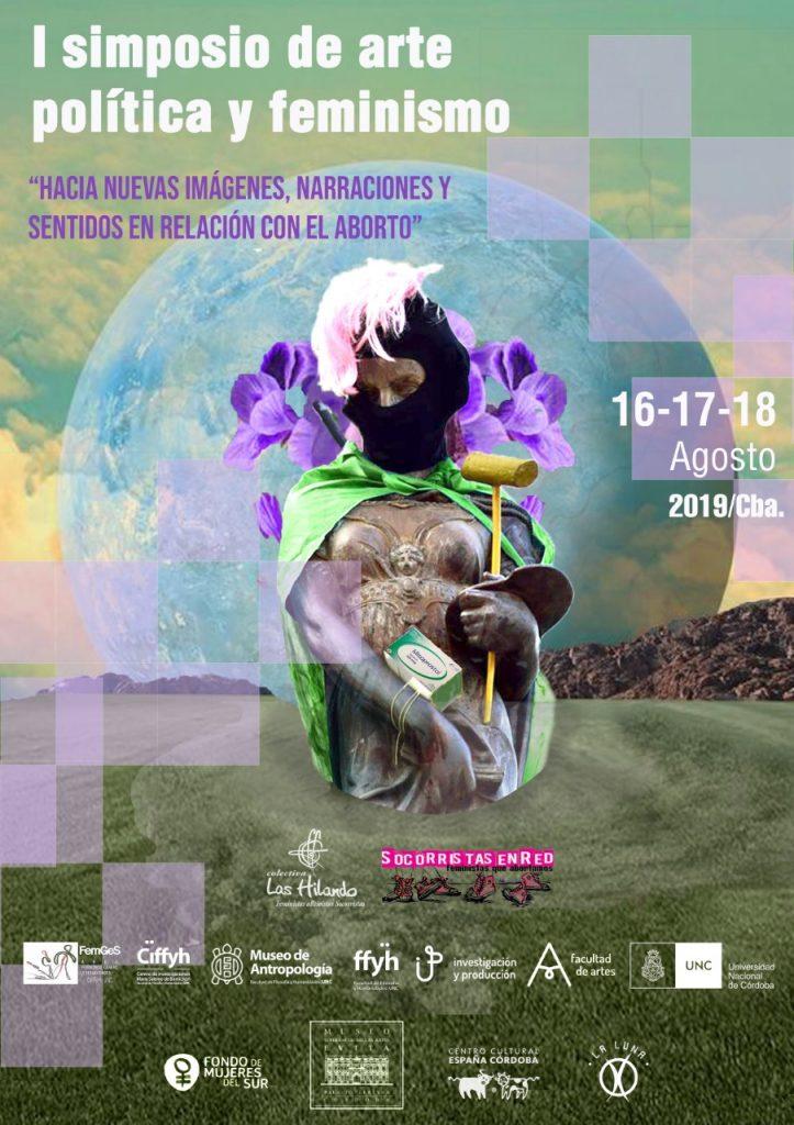 """Simposio de arte, política y feminismo: """"Hacia Nuevas imágenes, narraciones y sentidos en relación con el aborto"""""""