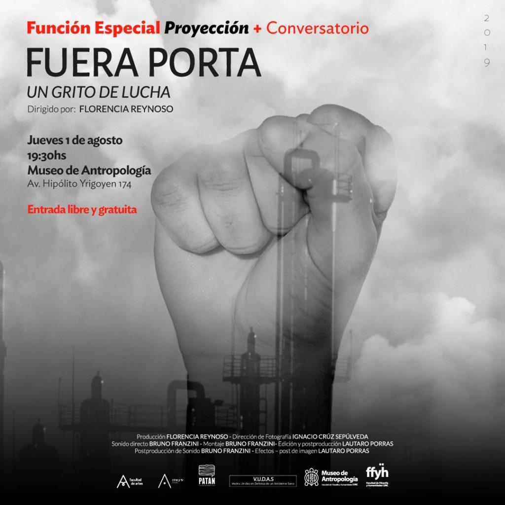 """""""Fuera Porta, un grito de lucha"""" se presenta en el Museo de Antropología"""