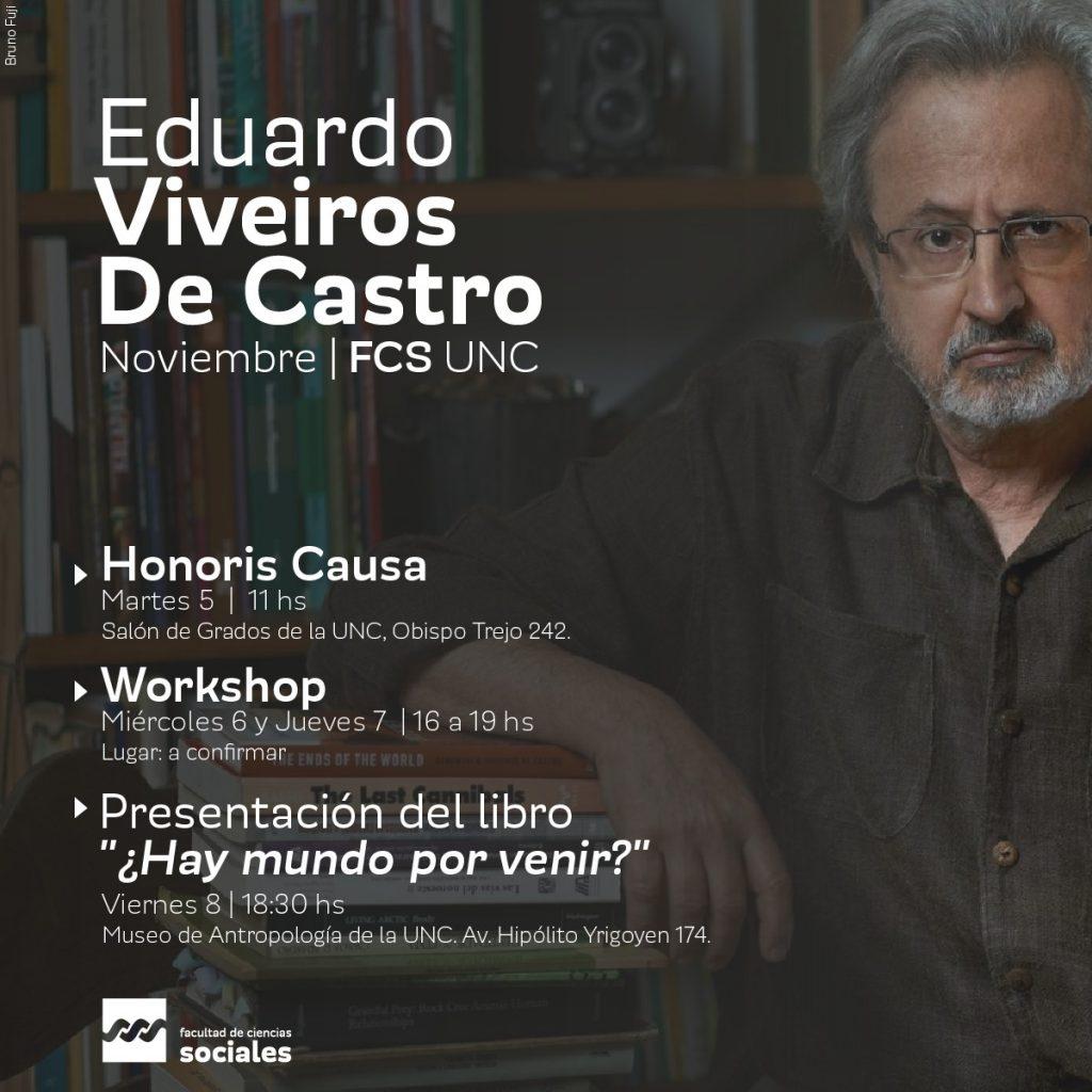 Honoris Causa para Eduardo Viveiros De Castro
