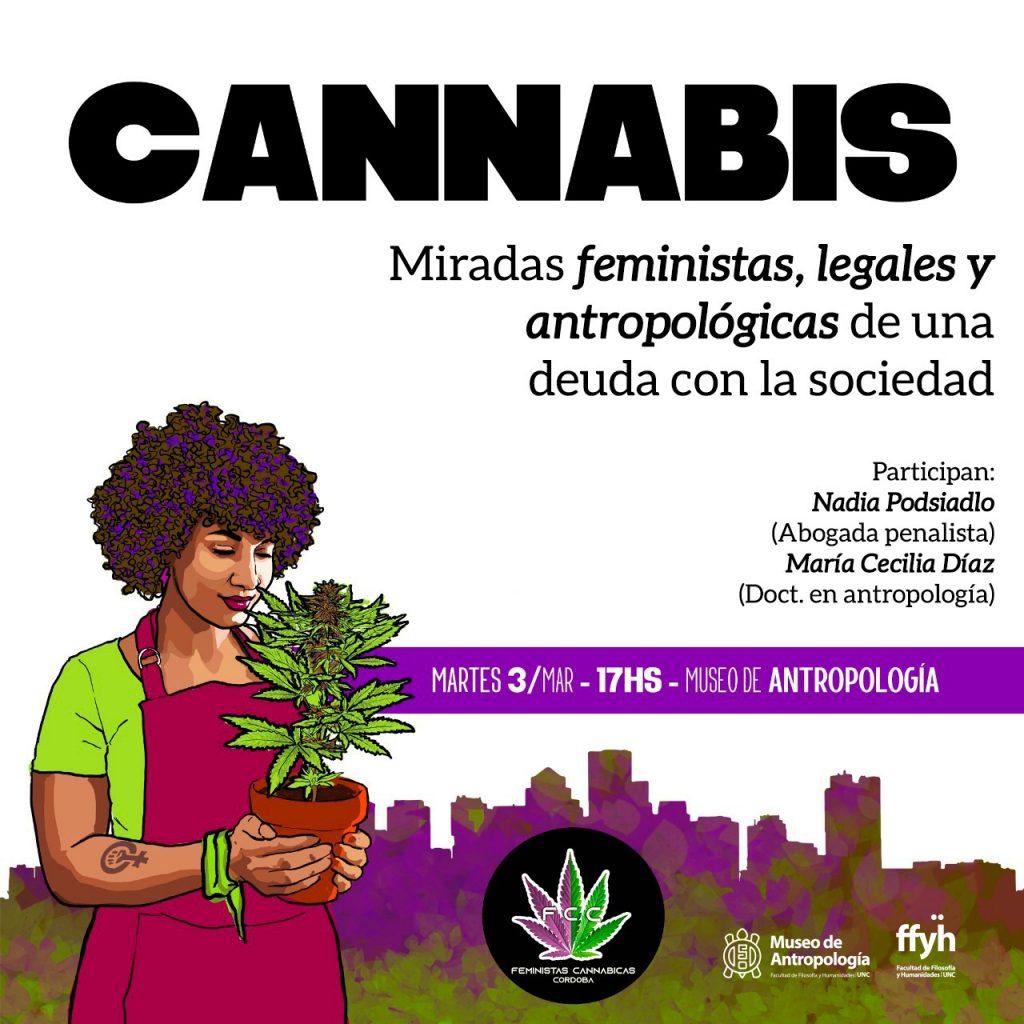 Cannabis: Miradas feministas, legales y antropológicas de una deuda con la sociedad.