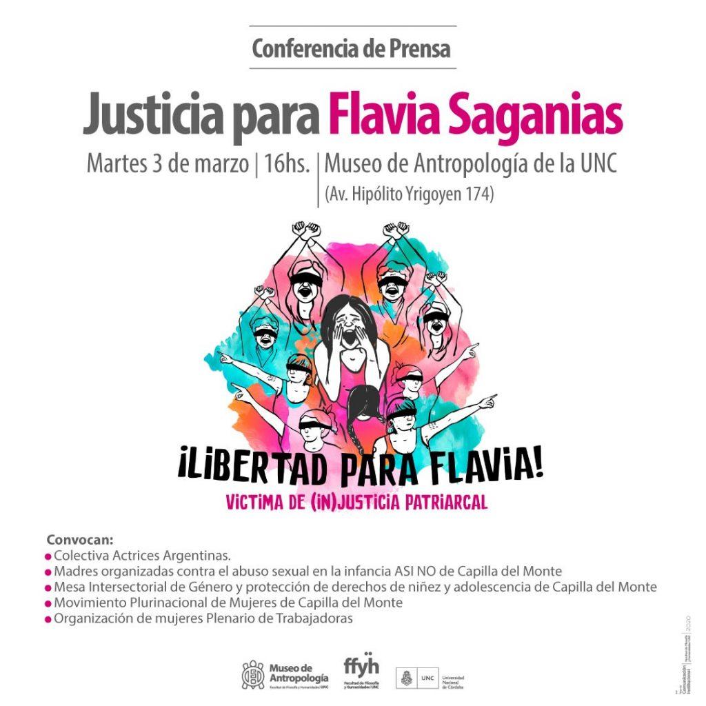 Justicia para Flavia Saganias