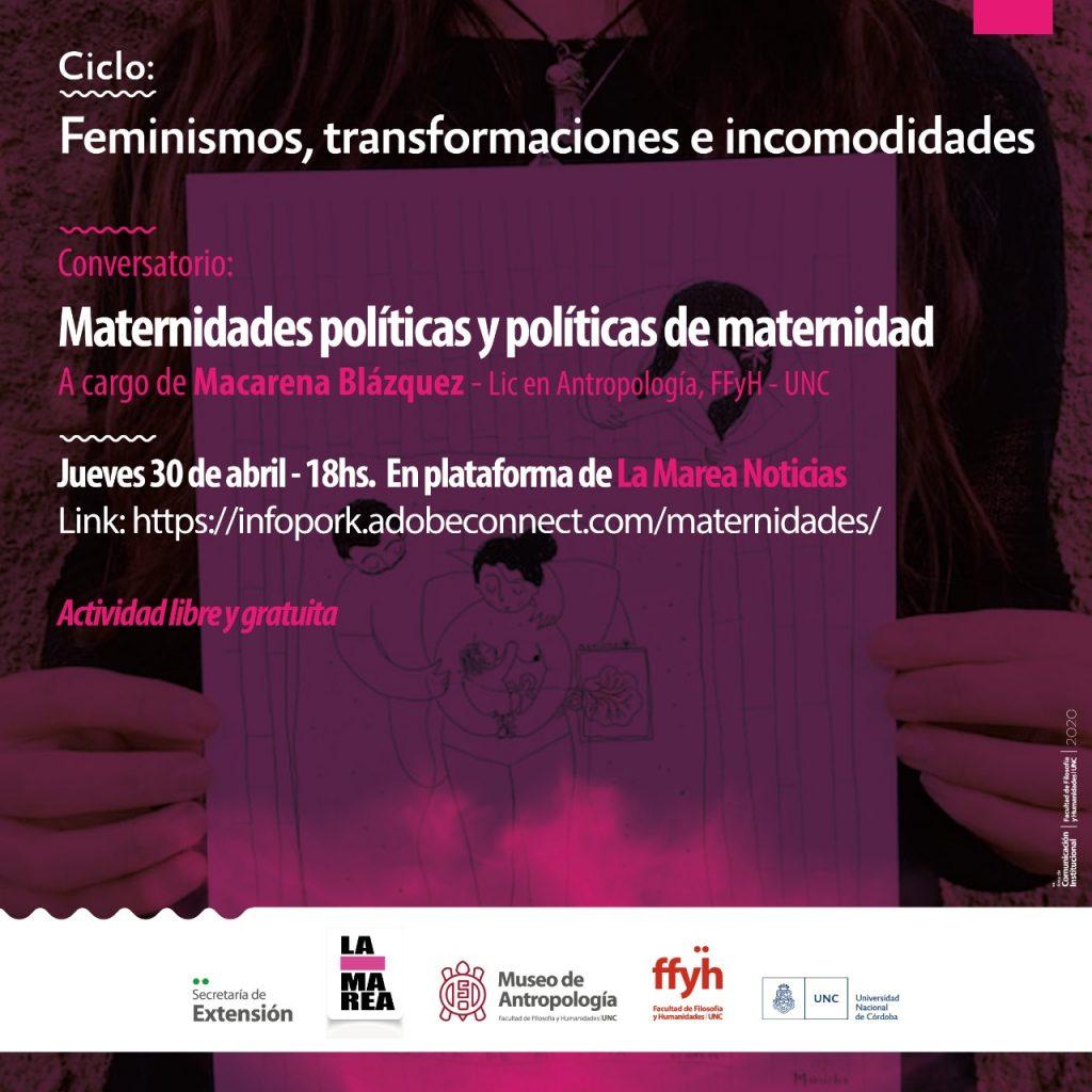 Maternidades políticas y políticas de maternidad